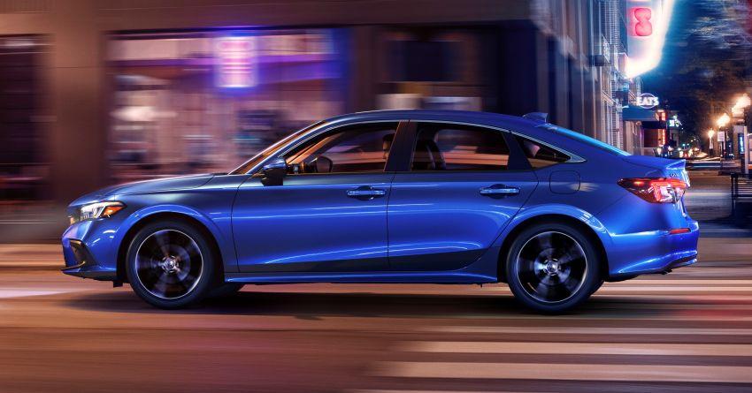 2022 Honda Civic Sedan makes its full debut – all-new styling; more powerful VTEC Turbo engine; updated kit Image #1288668