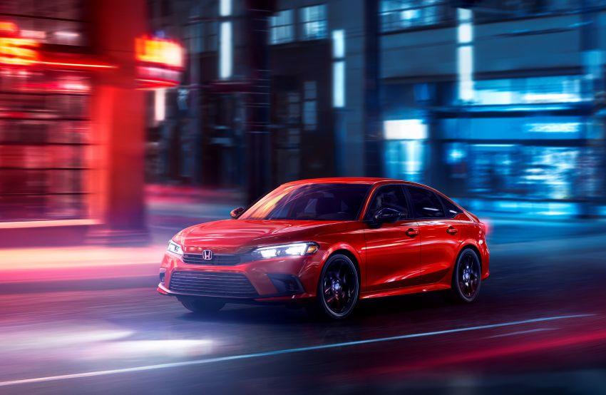 2022 Honda Civic Sedan makes its full debut – all-new styling; more powerful VTEC Turbo engine; updated kit Image #1288672