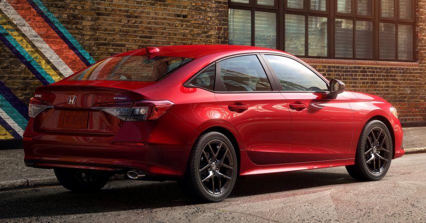 2022 Honda Civic Sedan makes its full debut – all-new styling; more powerful VTEC Turbo engine; updated kit Image #1288673