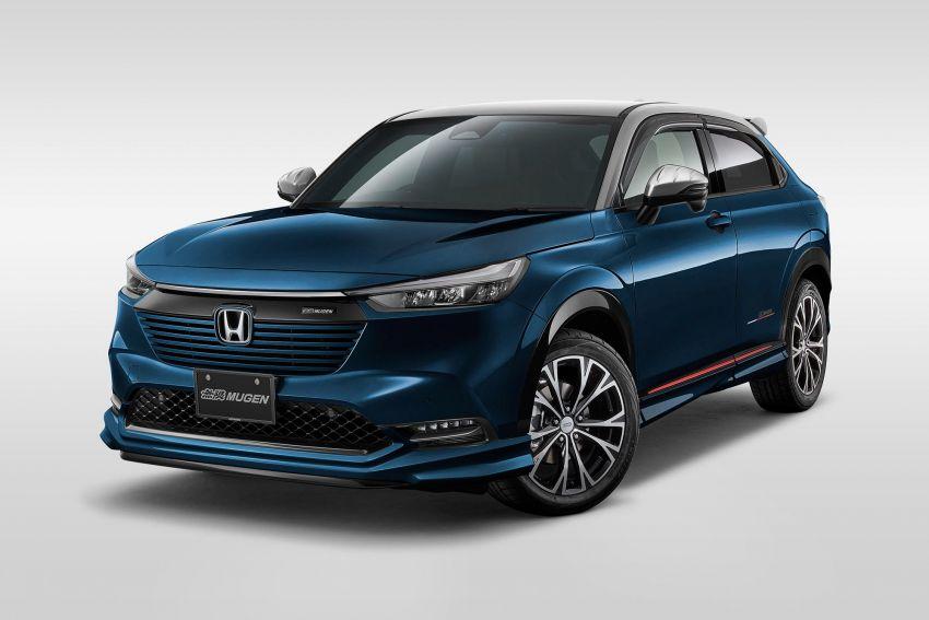 2022 Honda HR-V gets Mugen accessories in Japan Image #1286349
