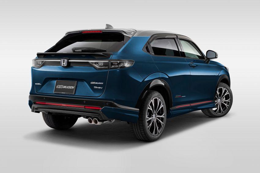 2022 Honda HR-V gets Mugen accessories in Japan Image #1286352