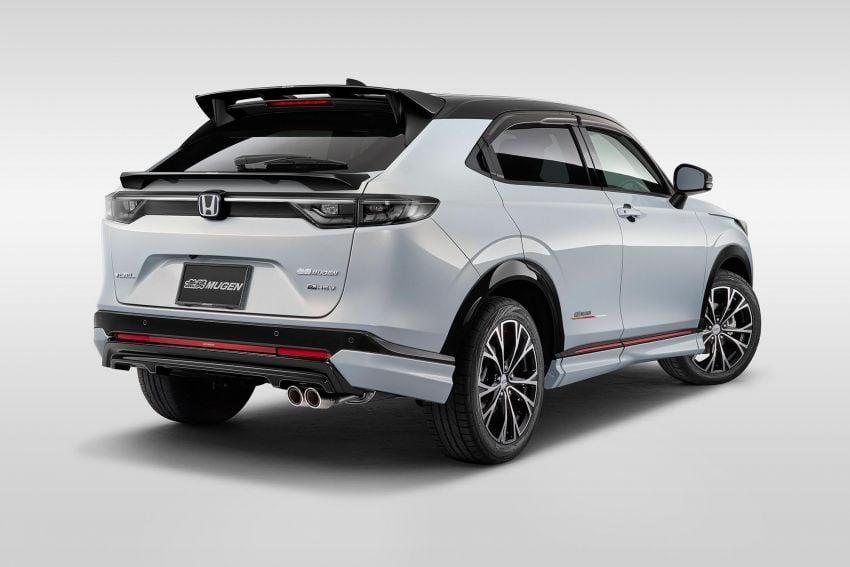 2022 Honda HR-V gets Mugen accessories in Japan Image #1286360