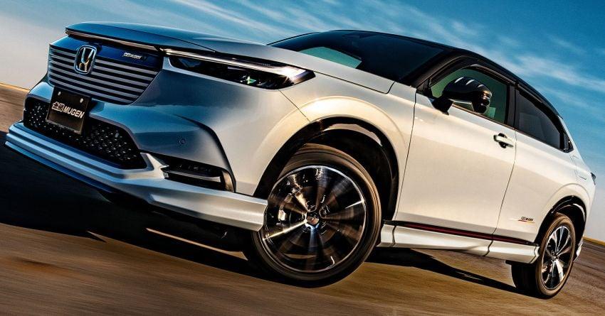 2022 Honda HR-V gets Mugen accessories in Japan Image #1286338
