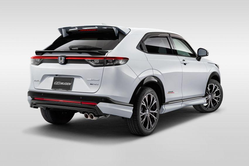 2022 Honda HR-V gets Mugen accessories in Japan Image #1286374
