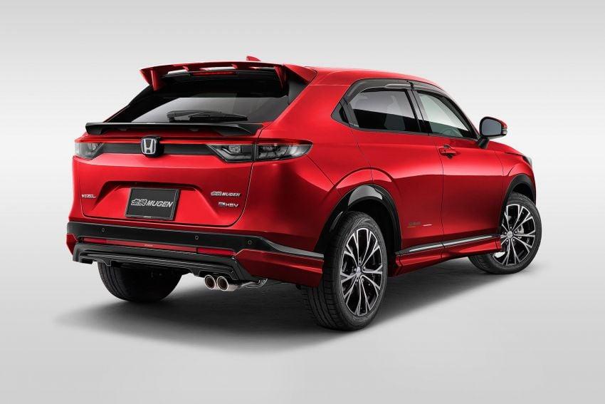 2022 Honda HR-V gets Mugen accessories in Japan Image #1286378
