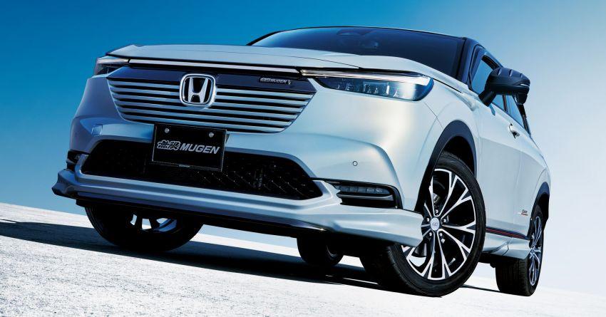 2022 Honda HR-V gets Mugen accessories in Japan Image #1286342