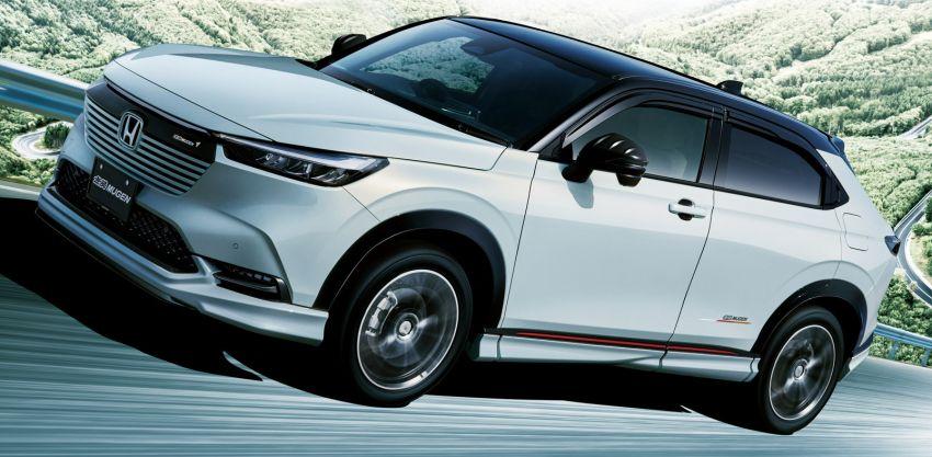 2022 Honda HR-V gets Mugen accessories in Japan Image #1286344