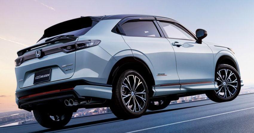 2022 Honda HR-V gets Mugen accessories in Japan Image #1286345