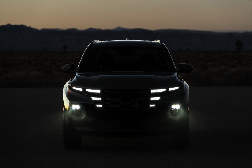 2022 Hyundai Santa Cruz finally revealed – smallest truck in the US looks cool, unibody, 2.5T with 8DCT Image #1280979