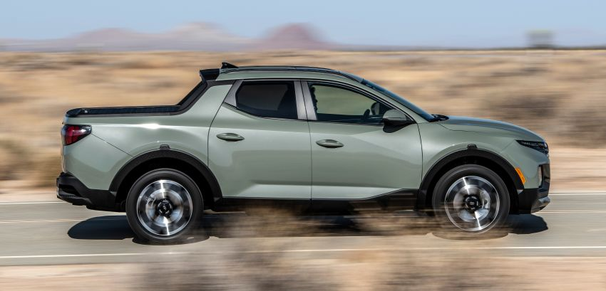 2022 Hyundai Santa Cruz finally revealed – smallest truck in the US looks cool, unibody, 2.5T with 8DCT Image #1281000