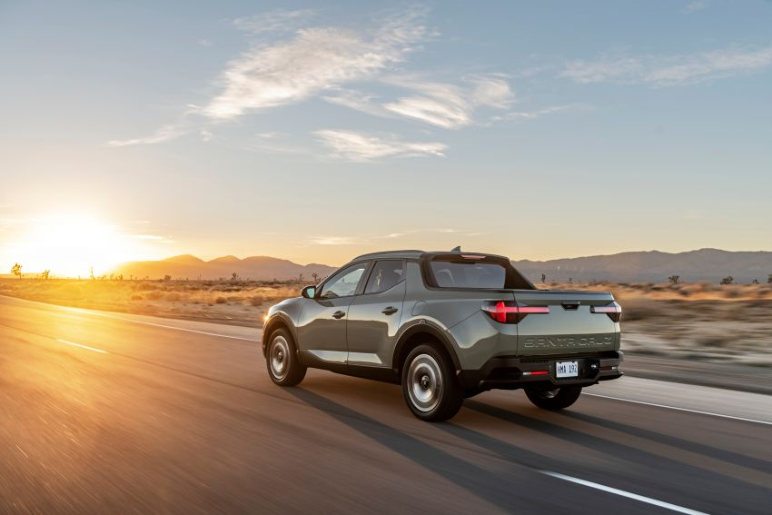 2022 Hyundai Santa Cruz finally revealed – smallest truck in the US looks cool, unibody, 2.5T with 8DCT Image #1281001