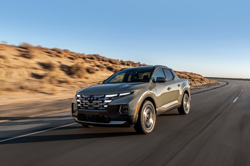 2022 Hyundai Santa Cruz finally revealed – smallest truck in the US looks cool, unibody, 2.5T with 8DCT Image #1281004