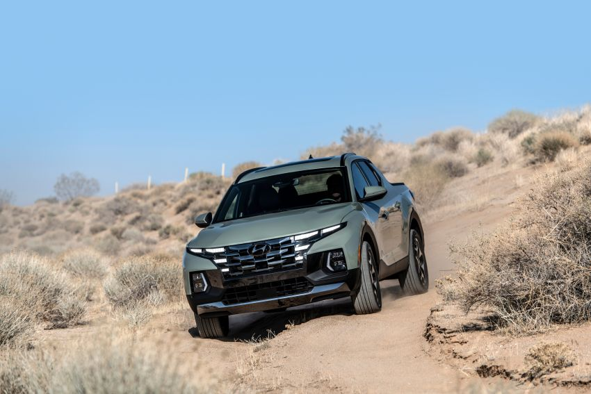 2022 Hyundai Santa Cruz finally revealed – smallest truck in the US looks cool, unibody, 2.5T with 8DCT Image #1281008
