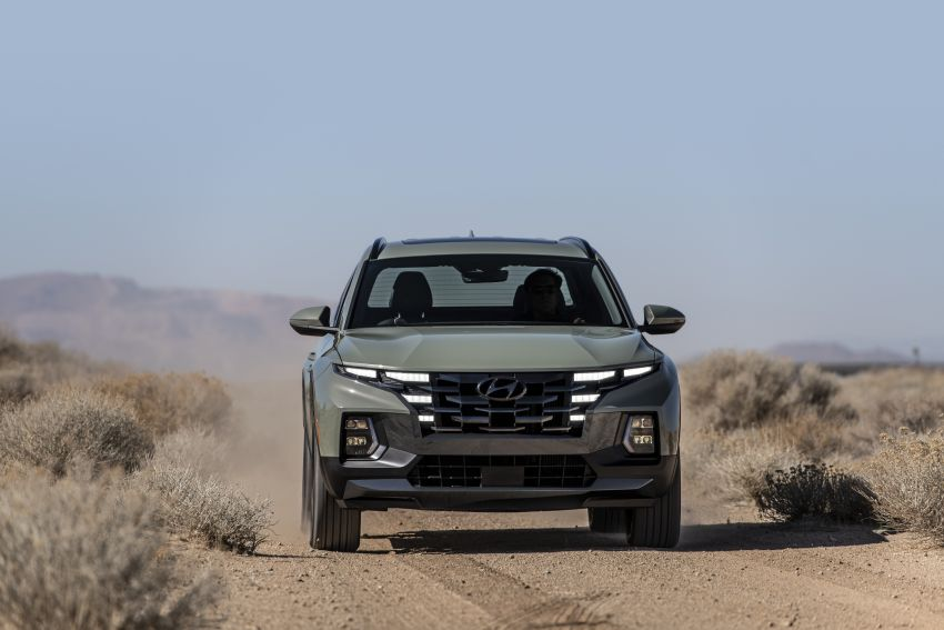 2022 Hyundai Santa Cruz finally revealed – smallest truck in the US looks cool, unibody, 2.5T with 8DCT Image #1281010