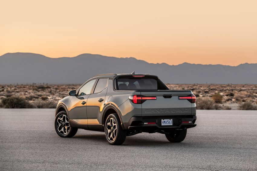 2022 Hyundai Santa Cruz finally revealed – smallest truck in the US looks cool, unibody, 2.5T with 8DCT Image #1281013