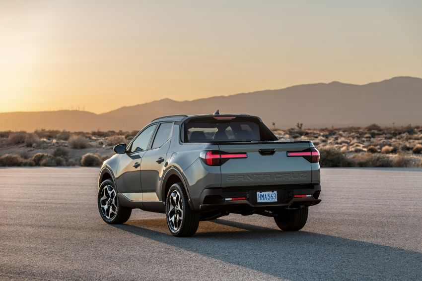 2022 Hyundai Santa Cruz finally revealed – smallest truck in the US looks cool, unibody, 2.5T with 8DCT Image #1281014