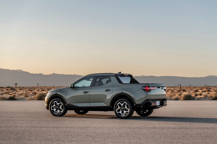 2022 Hyundai Santa Cruz finally revealed – smallest truck in the US looks cool, unibody, 2.5T with 8DCT Image #1281015