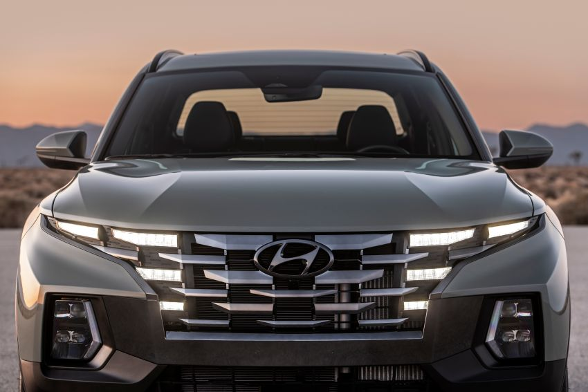 2022 Hyundai Santa Cruz finally revealed – smallest truck in the US looks cool, unibody, 2.5T with 8DCT Image #1281018