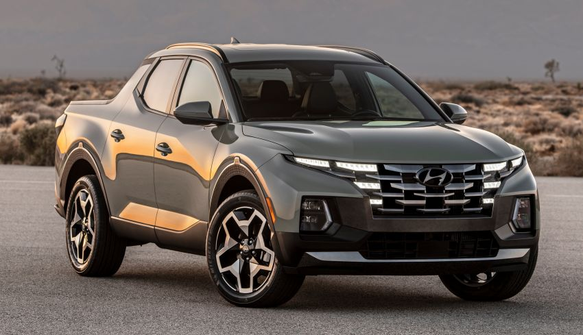 2022 Hyundai Santa Cruz finally revealed – smallest truck in the US looks cool, unibody, 2.5T with 8DCT Image #1281022