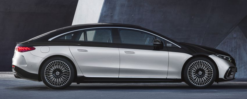2022 Mercedes-Benz EQS flagship EV sedan debuts – two variants, up to 523 PS and 855 Nm, 770 km range Image #1280660