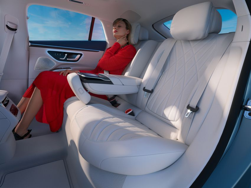 2022 Mercedes-Benz EQS flagship EV sedan debuts – two variants, up to 523 PS and 855 Nm, 770 km range Image #1280750