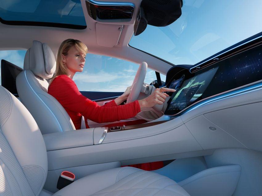 2022 Mercedes-Benz EQS flagship EV sedan debuts – two variants, up to 523 PS and 855 Nm, 770 km range Image #1280751