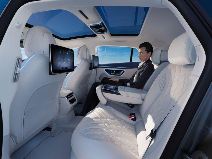 2022 Mercedes-Benz EQS flagship EV sedan debuts – two variants, up to 523 PS and 855 Nm, 770 km range Image #1280752