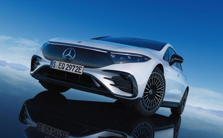 2022 Mercedes-Benz EQS flagship EV sedan debuts – two variants, up to 523 PS and 855 Nm, 770 km range Image #1280755