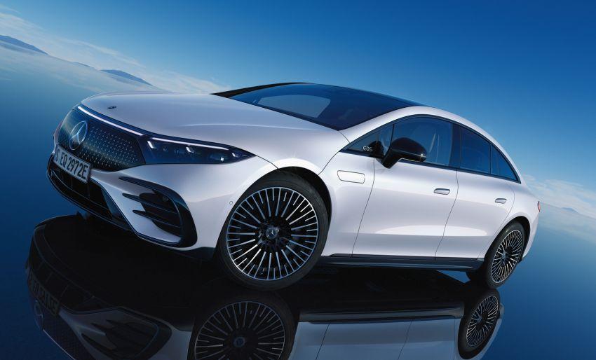 2022 Mercedes-Benz EQS flagship EV sedan debuts – two variants, up to 523 PS and 855 Nm, 770 km range Image #1280757