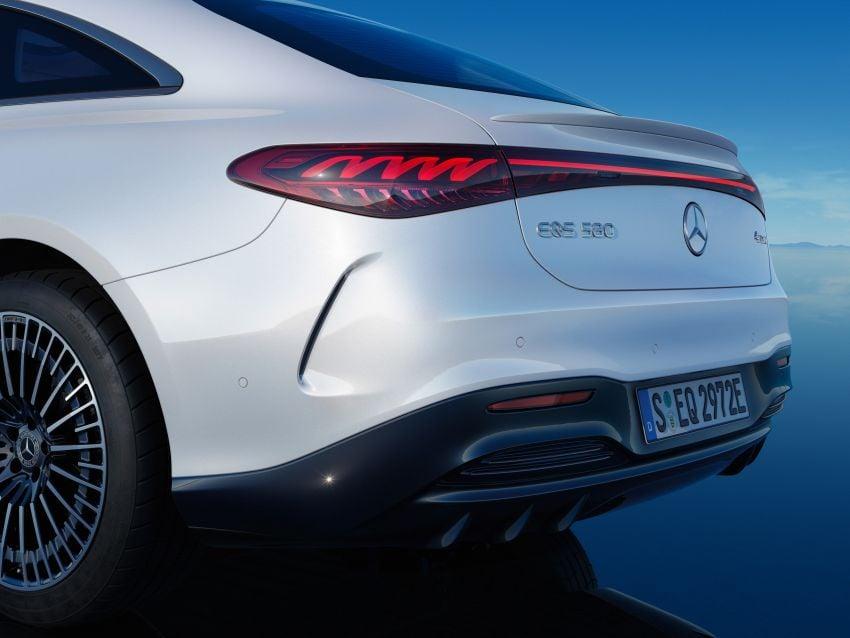 2022 Mercedes-Benz EQS flagship EV sedan debuts – two variants, up to 523 PS and 855 Nm, 770 km range Image #1280633