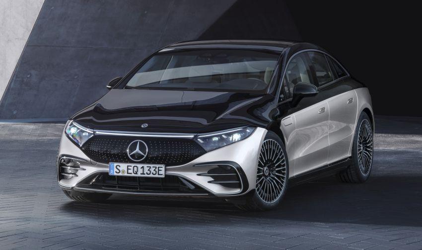 2022 Mercedes-Benz EQS flagship EV sedan debuts – two variants, up to 523 PS and 855 Nm, 770 km range Image #1280661