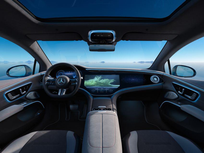 2022 Mercedes-Benz EQS flagship EV sedan debuts – two variants, up to 523 PS and 855 Nm, 770 km range Image #1280635