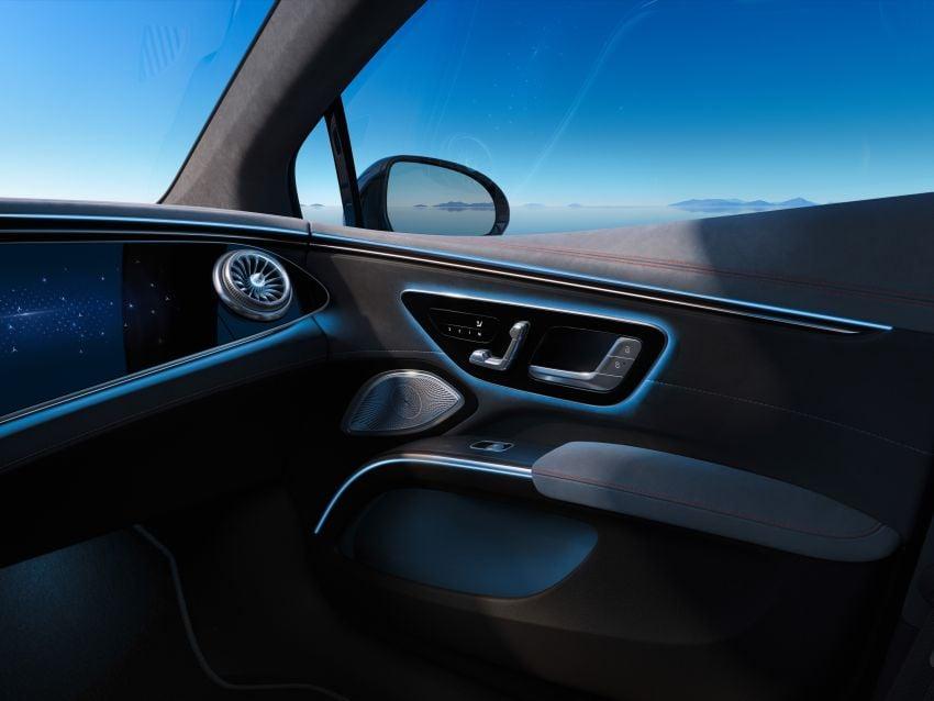 2022 Mercedes-Benz EQS flagship EV sedan debuts – two variants, up to 523 PS and 855 Nm, 770 km range Image #1280636