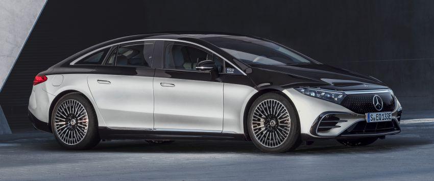 2022 Mercedes-Benz EQS flagship EV sedan debuts – two variants, up to 523 PS and 855 Nm, 770 km range Image #1280662