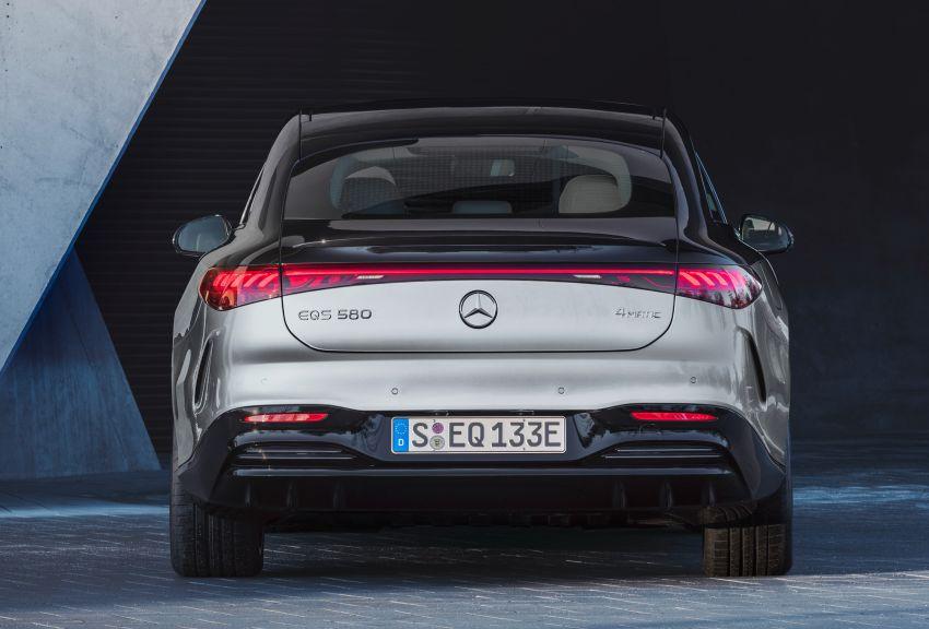 2022 Mercedes-Benz EQS flagship EV sedan debuts – two variants, up to 523 PS and 855 Nm, 770 km range Image #1280663