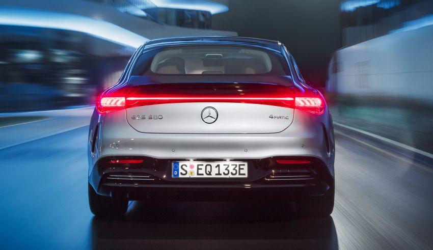 2022 Mercedes-Benz EQS flagship EV sedan debuts – two variants, up to 523 PS and 855 Nm, 770 km range Image #1280666