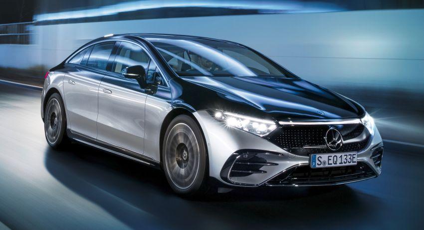 2022 Mercedes-Benz EQS flagship EV sedan debuts – two variants, up to 523 PS and 855 Nm, 770 km range Image #1280668