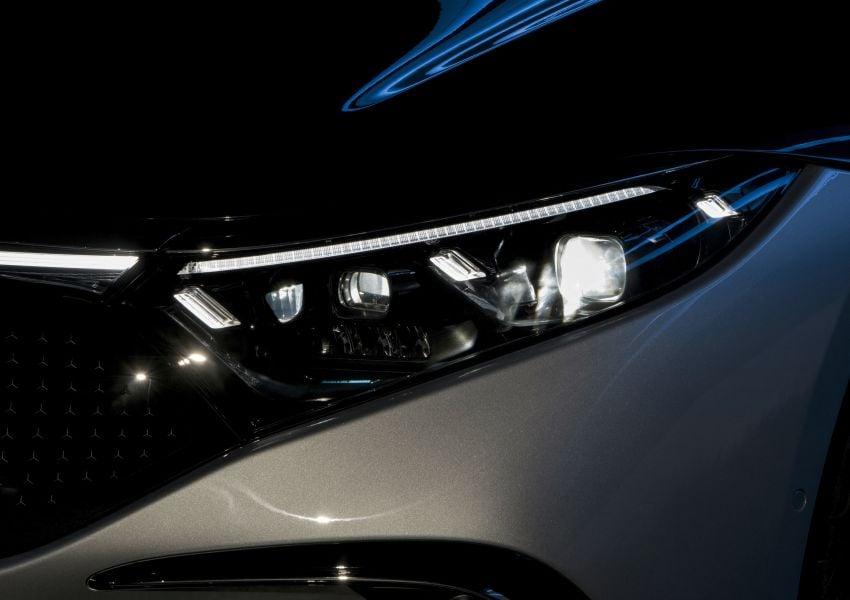 2022 Mercedes-Benz EQS flagship EV sedan debuts – two variants, up to 523 PS and 855 Nm, 770 km range Image #1280669