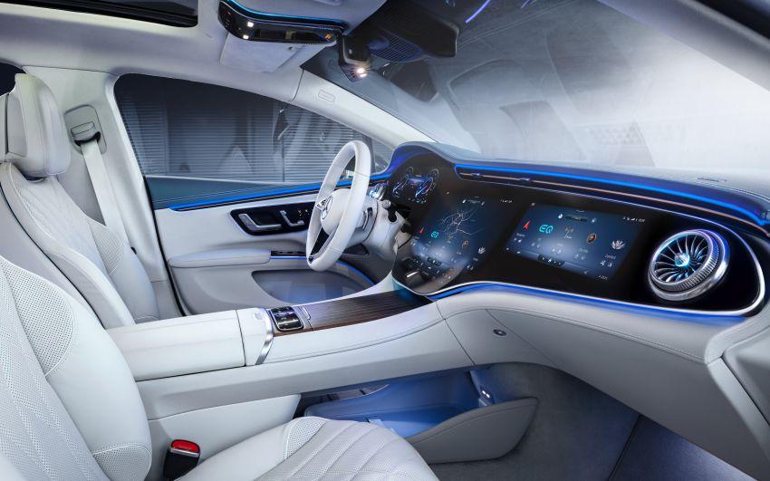 2022 Mercedes-Benz EQS flagship EV sedan debuts – two variants, up to 523 PS and 855 Nm, 770 km range Image #1280673