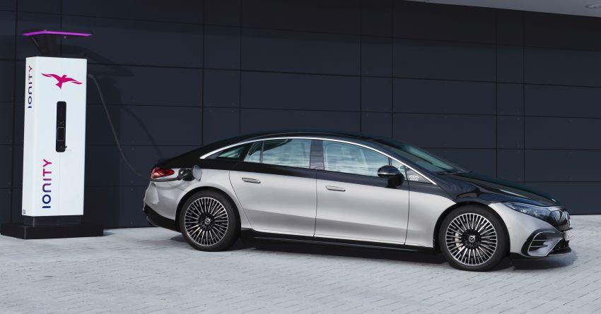 2022 Mercedes-Benz EQS flagship EV sedan debuts – two variants, up to 523 PS and 855 Nm, 770 km range Image #1280677