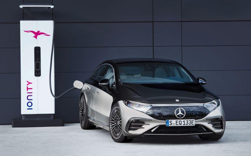 2022 Mercedes-Benz EQS flagship EV sedan debuts – two variants, up to 523 PS and 855 Nm, 770 km range Image #1280678