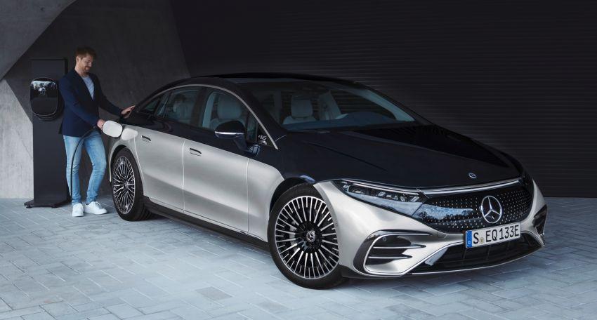 2022 Mercedes-Benz EQS flagship EV sedan debuts – two variants, up to 523 PS and 855 Nm, 770 km range Image #1280679