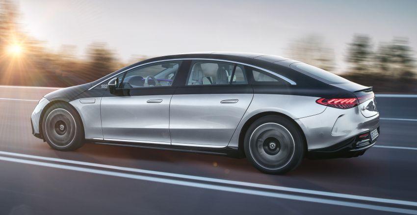 2022 Mercedes-Benz EQS flagship EV sedan debuts – two variants, up to 523 PS and 855 Nm, 770 km range Image #1280680