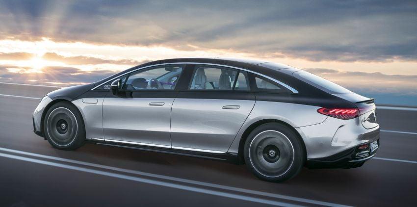 2022 Mercedes-Benz EQS flagship EV sedan debuts – two variants, up to 523 PS and 855 Nm, 770 km range Image #1280681