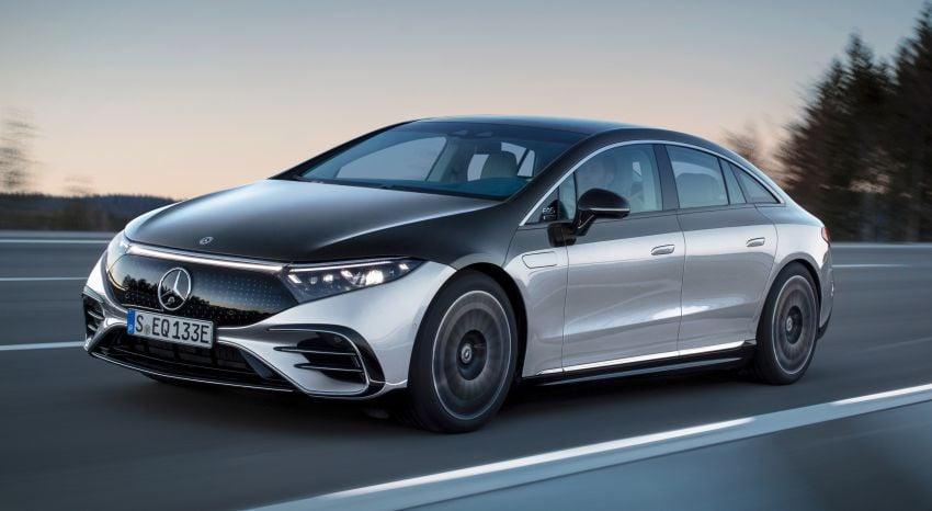 2022 Mercedes-Benz EQS flagship EV sedan debuts – two variants, up to 523 PS and 855 Nm, 770 km range Image #1280682