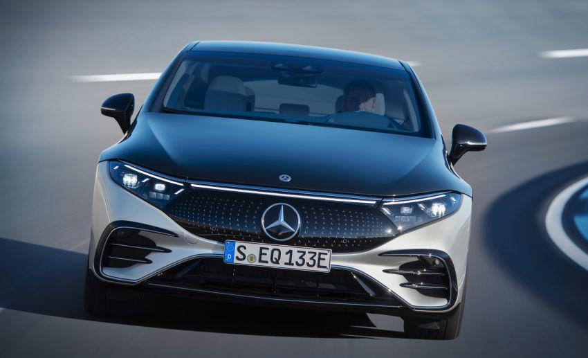 2022 Mercedes-Benz EQS flagship EV sedan debuts – two variants, up to 523 PS and 855 Nm, 770 km range Image #1280684