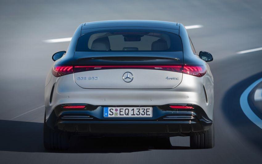2022 Mercedes-Benz EQS flagship EV sedan debuts – two variants, up to 523 PS and 855 Nm, 770 km range Image #1280685