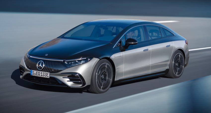 2022 Mercedes-Benz EQS flagship EV sedan debuts – two variants, up to 523 PS and 855 Nm, 770 km range Image #1280686