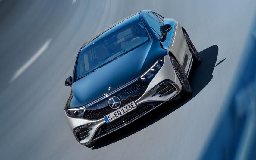 2022 Mercedes-Benz EQS flagship EV sedan debuts – two variants, up to 523 PS and 855 Nm, 770 km range Image #1280688