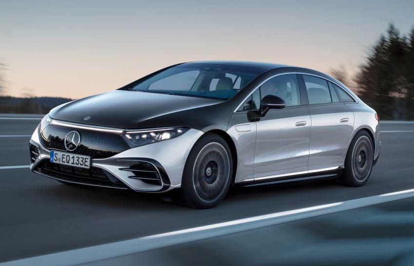 2022 Mercedes-Benz EQS flagship EV sedan debuts – two variants, up to 523 PS and 855 Nm, 770 km range Image #1280689